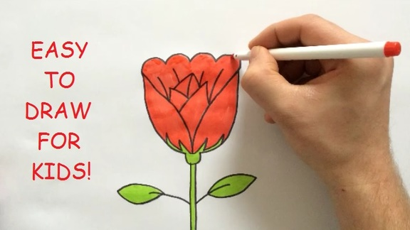 Easy stuff to draw for kids for Easy but good things to draw